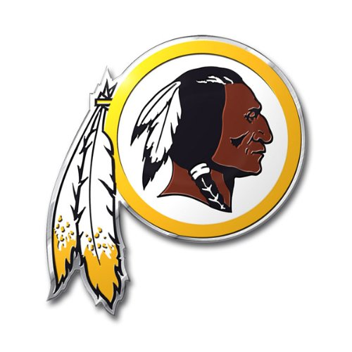 Team ProMark NFL Washington Redskins Die Cut Color Automobile Emblem ()