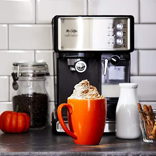51Yma5t2YiL - Mr. Coffee Cafe Barista Espresso and Cappuccino Maker, Silver