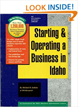 Starting and Operating a Business in Idaho