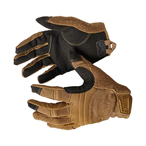 5.11 Competition Shooting Glv Men's Touch Screen Competition Shooting Tactical Glove, Style 59372, Kangaroo, Medium from 5.11
