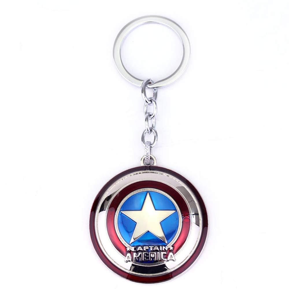 Los Vengadores Capitan America escudo llavero llavero ...