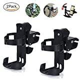 Bike Bottle Holder Cage Rack 360 Degree Adjustable Bike Drinks Holder Bottle Cage for Mount, Baby Stroller, Kids, Mountain Bike Adult