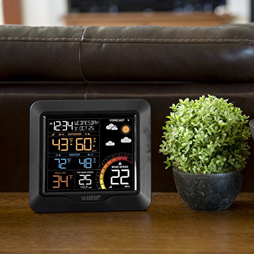 La Crosse Technology 327-1417 Color Wind Speed Station