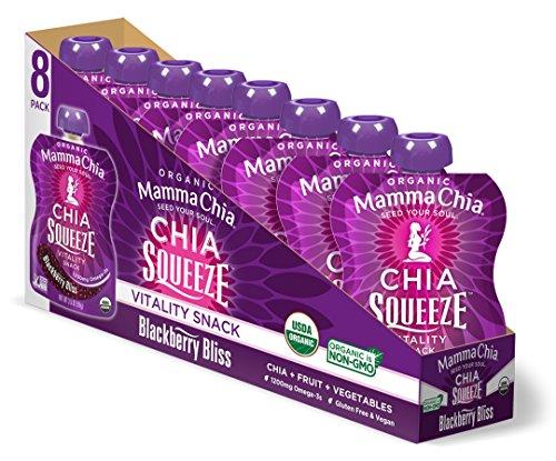 🥇 Mamma Chia Organic Vitality Squeeze Snack