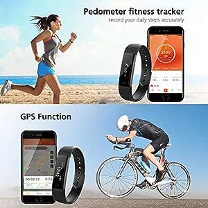 Arbily 【Upgrade】 Fitness Tracker Watch - It's OK for the price