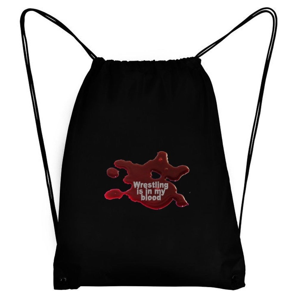 Teeburon Wrestling IS IN MY BLOOD Sport Bag
