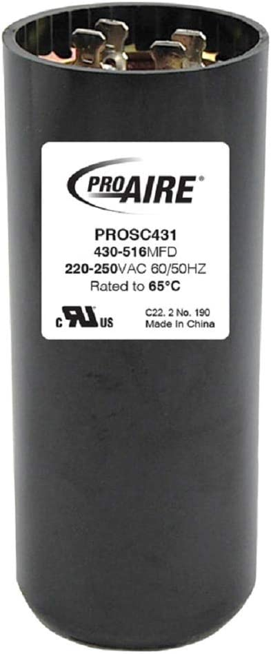 Perfect Aire ProAire 430-516 MFD Round Start Capacitor