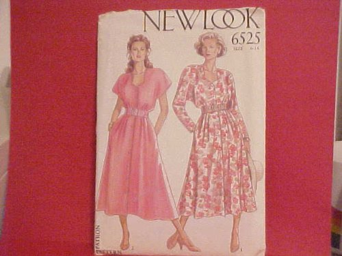 NewLook Pattern 6525 Dress seven sizes in one { size 6 - 18 }