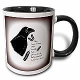 3dRose mug%5F194500%5F4 Meaning of Raven