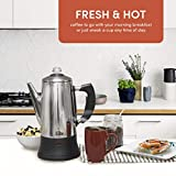Maxi-Matic 12 Cup Percolator, Stainless Steel