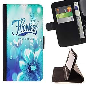 King Case - FOR LG G2 D800 - never say sorry is love - Prima caja de la PU billetera de cuero con ranuras para tarjetas, efectivo Compartimiento desmontable y correa para la mu?eca