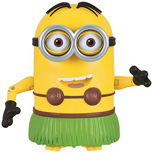 Despicable Me Talking Hula Minion Dave Toy Figure]()