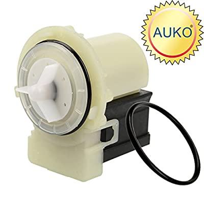 AUKO 8181684 Washer Drain Pump Motor Replacement for Whirlpool Maytag Kenmore Washing Machine Part Replaces 280187 285998 AP3953640 8182819 8182821 by