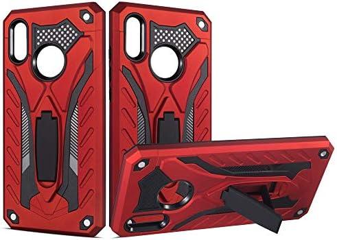 [해외]for Huawei Phone case Protection Stand Shockproof Cover for Huawei Y5 2019Honor 8S / for Huawei Phone case Protection Stand Shockproof Cover for Huawei Y5 2019Honor 8S (Red)