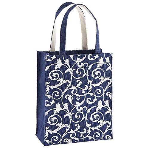 Reusable Fabric Gift Bags with Handles: Single Fabric Bag: Unique Small and Eco Friendly