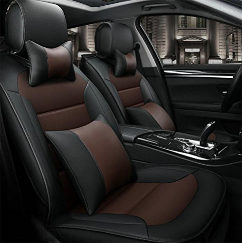 Luxury leather car seats full of sentence 5 programmable seat covers universal fit by YAOHAOHAO