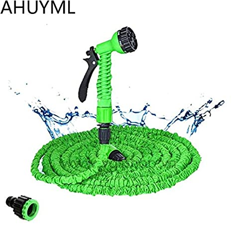 Watering & Irrigation 25ft-250ft Garden Hose Expandable Magic Flexible Water Hose Eu Hose Plastic Hoses Pipe With Spray Gun To Watering Car Wash Spray