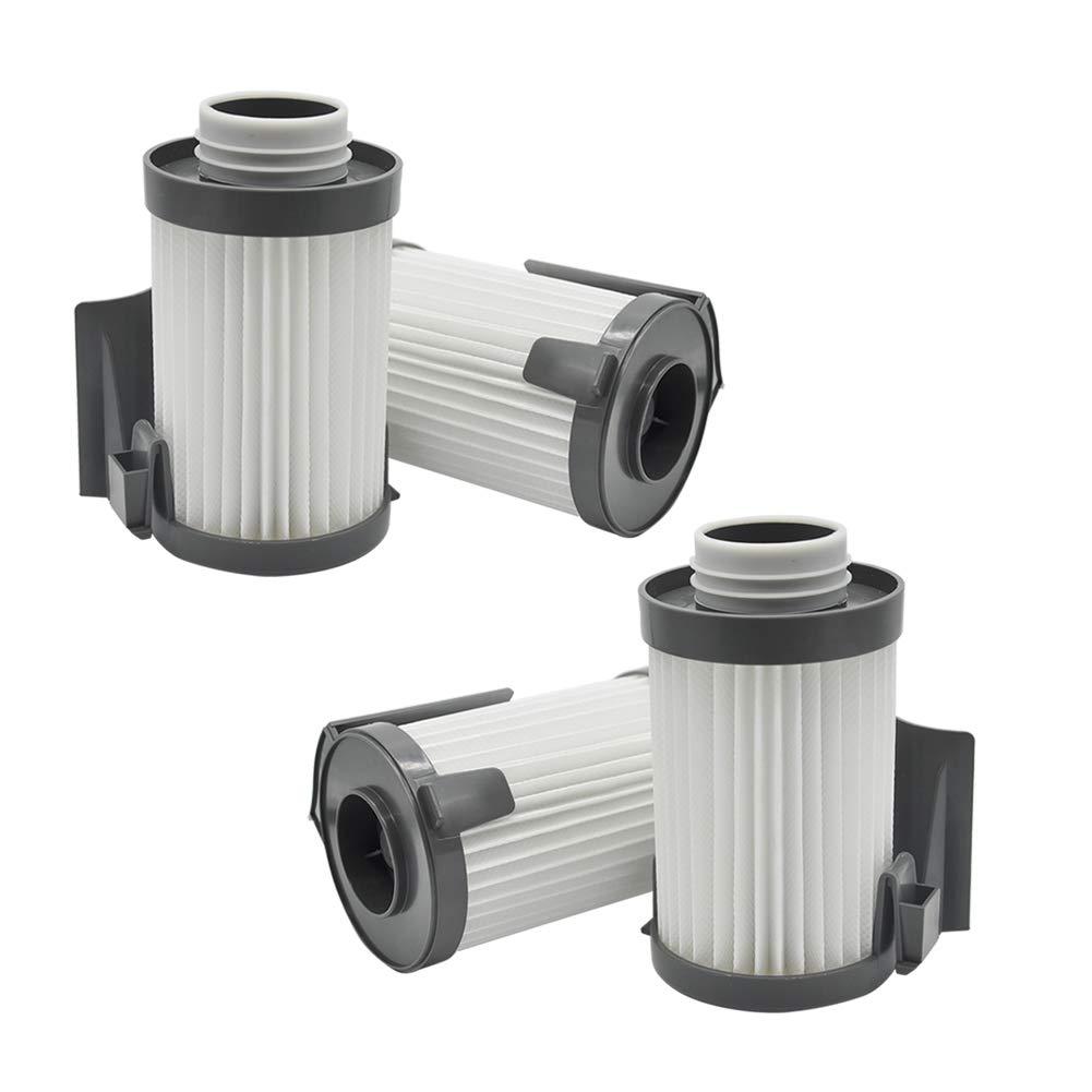 EZ SPARES 4pcs Replacement for Eureka DCF-10,DCF-14,Dust Cup HEPA Filter,Replaces Part # 62731, 62396 Attachment