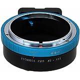 Fotodiox Pro Lens Mount Adapter, Canon FD (New FD, FL) Lens to Sony Alpha, E-Mount, NEX Mirrorless Camera