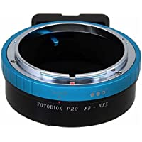 Fotodiox Pro Lens Mount Adapter, Canon FD (New FD, FL) Lens to Sony Alpha, E-Mount, NEX Mirrorless Camera