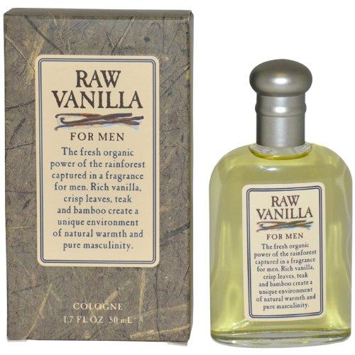 Raw Vanilla By Coty For Men. Cologne Splash 1.7 Oz / 50 Ml (Raw Vanilla Spray Cologne For Men)