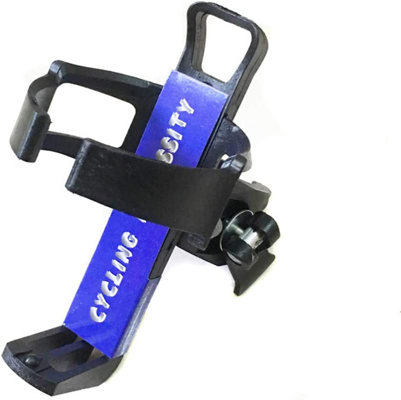 Mountain Bike Quick Release Water Cup Holder, Plastic Bottle Cage Adjustable Beverage Rack, Rotatable Kettle Holder