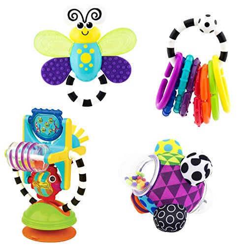 Sassy Flutterby Teether - 4
