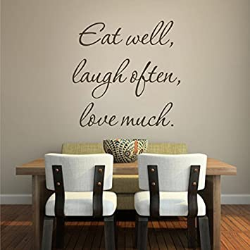 Motivation Wall Quotes Words Art For Kitchen Dining Room Living Room