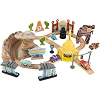 Disney Kidkraft Pixar Cars 3 50-Pc. Wooden Track Set