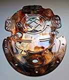 Vintage Style Dive Helmet Metal Wall Art Decor 13