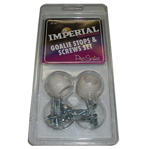 Imperial Foosball Goalie Stops and Screw Set Clam Pack ()