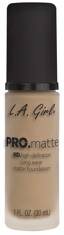 L.A. Girl Pro.matte foundation, Bisque GLM672, 1 fl. oz.