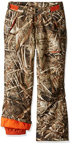 Arctix Youth Snow Pants with Reinforced Knees and Seat, Realtree Max-5 Camo, Large