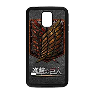 Warm-Dog The Cartoon Anime Attack On Titan Cell Phone Case for Samsung Galaxy S5