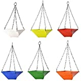 CINAGRO Twister Hanging Planter with Metal Chain - Set of 6