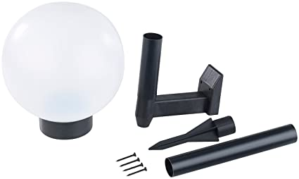 Lampada sfera da giardino luce a led ad energia solare palla