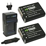 Best Battery Charger For Fujifilm FinePixes - Wasabi Power Battery (2-Pack) and Charger for Fujifilm Review