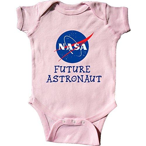 Astronaut Clothing - inktastic - NASA Logo Future Astronaut Infant Creeper 6 Months Pink