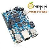 Orange Pi Plus 2 Single Board Computer with Quad Core 1.3GHz ARMv7 2GB DDR3 WiFi