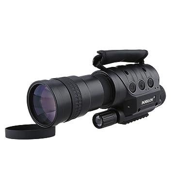 fb4172428732be Uphig Boblov NV-760D Monoculaire Vision Nocturne Télescope Numérique  Infrarouge 7x60 850n Photo et Vidéo