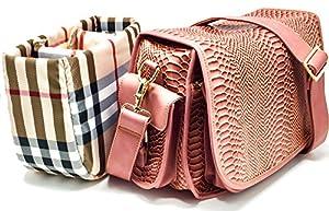 Purple Relic: Womens DSLR Camera Bag ~ Multipurpose Ladies Handbag