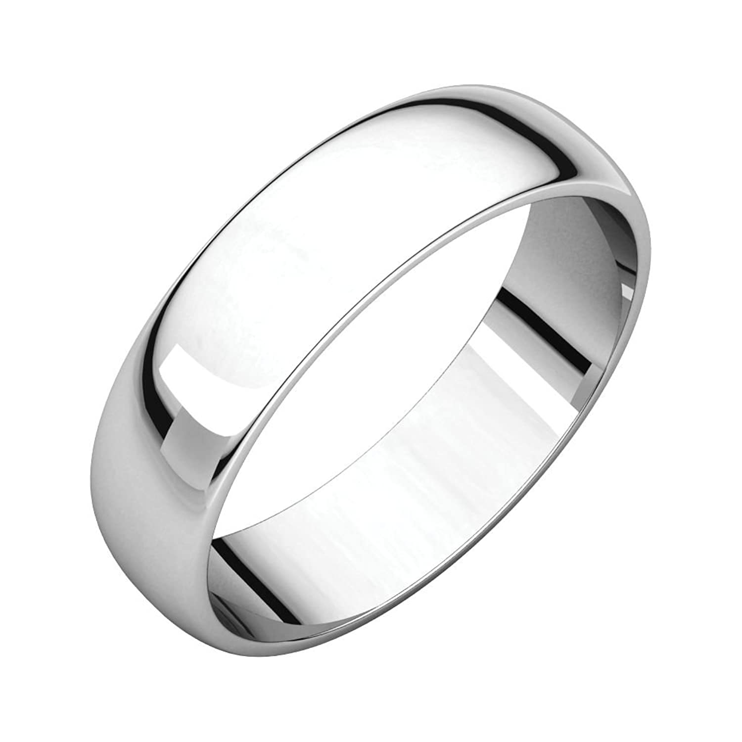 10K White 5mm Half Round Light Band