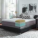 Slumber Solutions Choose-Your-Comfort 12-inch King-size Memory Foam Mattress Medium