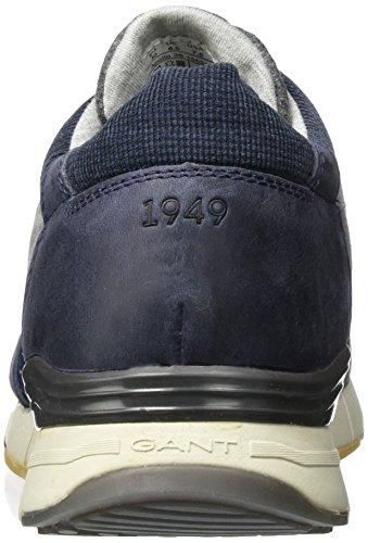 Gant Andrew, Sneaker a Collo Alto Uomo Blu (Persian Blue G660)
