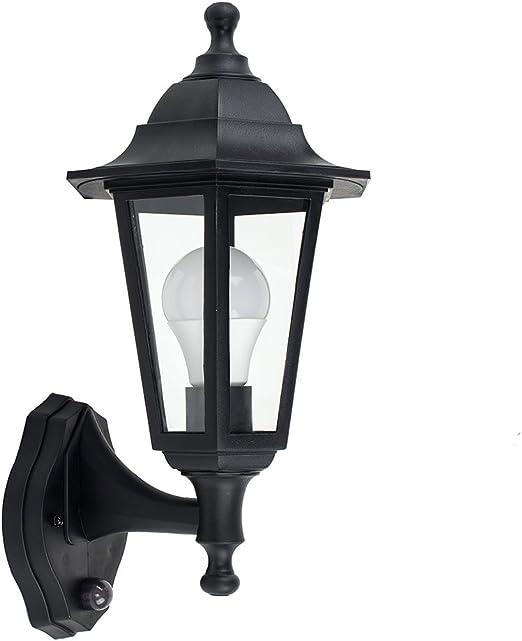 Moderna Lampada da parete con rilevatore di movimento e27 60w Lampada esterno casa Lampada da parete