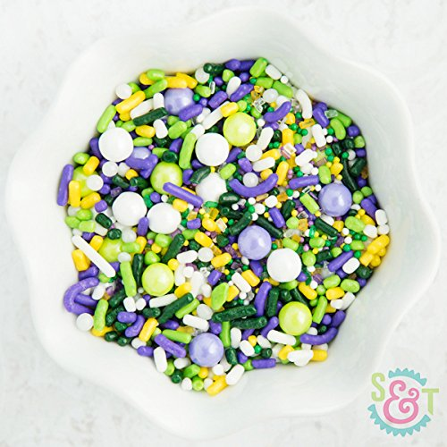 Sweet Sprinkle Mixes (King Cake) (Mardi Gras Treats)