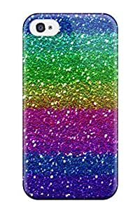 iphone covers New Shockproof Protection Case Cover For Iphone 5c/ Glittery Rainbow Stripe Case Cover