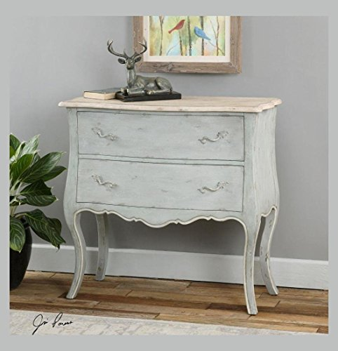 Uttermost Ferrand Gray Accent Chest by Uttermost