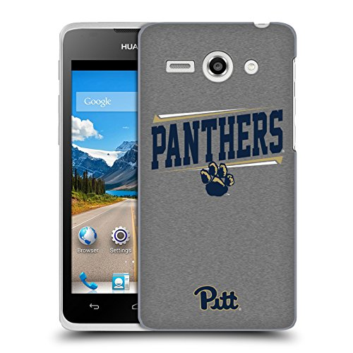 Official University Of Pittsburgh Double Bar Hard Back Case for Huawei Ascend Y530 / C8813