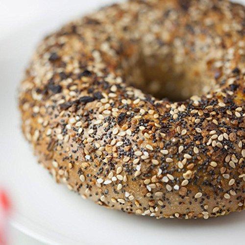 12 Fresh New York City Bagels (Whole Wheat Everything)